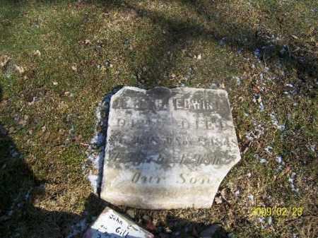 GILL, ERWIN L - Lorain County, Ohio | ERWIN L GILL - Ohio Gravestone Photos