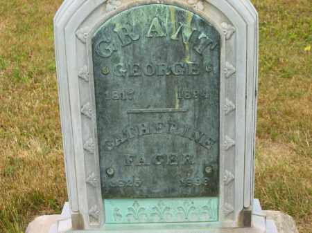 FACER GRANT, CATHERINE - Lorain County, Ohio | CATHERINE FACER GRANT - Ohio Gravestone Photos
