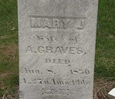 GRAVES, A. - Lorain County, Ohio | A. GRAVES - Ohio Gravestone Photos
