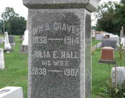 GRAVES, JULIA E. - Lorain County, Ohio | JULIA E. GRAVES - Ohio Gravestone Photos