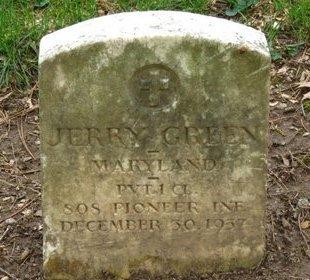 GREEN, JERRY - Lorain County, Ohio   JERRY GREEN - Ohio Gravestone Photos