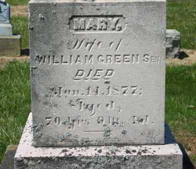 GREEN, MARY - Lorain County, Ohio | MARY GREEN - Ohio Gravestone Photos