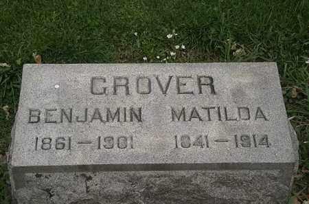 GROVER, MATILDA - Lorain County, Ohio | MATILDA GROVER - Ohio Gravestone Photos