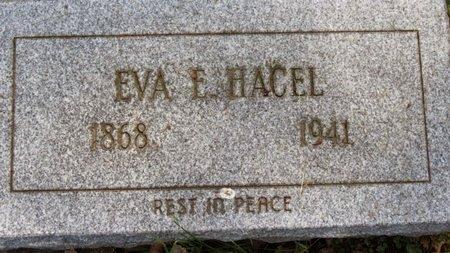 HACEL, EVA E. - Lorain County, Ohio | EVA E. HACEL - Ohio Gravestone Photos