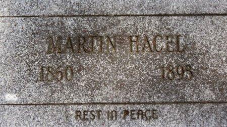 HACEL, MARTIN - Lorain County, Ohio   MARTIN HACEL - Ohio Gravestone Photos