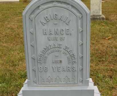 HANCE, ABIGAIL - Lorain County, Ohio   ABIGAIL HANCE - Ohio Gravestone Photos