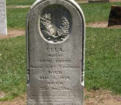 HARRIS, ELLA - Lorain County, Ohio | ELLA HARRIS - Ohio Gravestone Photos
