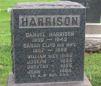 HARRISON, JOHN - Lorain County, Ohio | JOHN HARRISON - Ohio Gravestone Photos