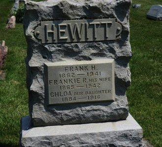 HEWITT, CHLOA - Lorain County, Ohio | CHLOA HEWITT - Ohio Gravestone Photos