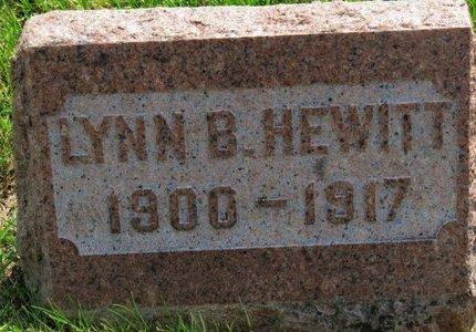 HEWITT, LYNN B. - Lorain County, Ohio | LYNN B. HEWITT - Ohio Gravestone Photos
