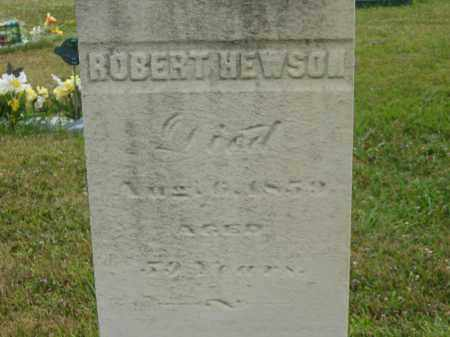 HEWSON, ROBERT - Lorain County, Ohio   ROBERT HEWSON - Ohio Gravestone Photos
