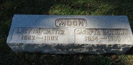 MOON BARROWS, SAREPTA - Lorain County, Ohio | SAREPTA MOON BARROWS - Ohio Gravestone Photos