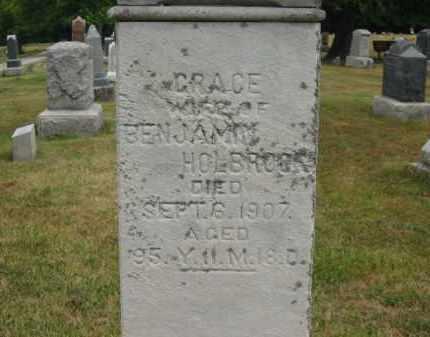 HOLBROOK, GRACE - Lorain County, Ohio | GRACE HOLBROOK - Ohio Gravestone Photos