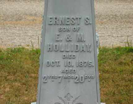 HOLLIDAY, M. - Lorain County, Ohio | M. HOLLIDAY - Ohio Gravestone Photos