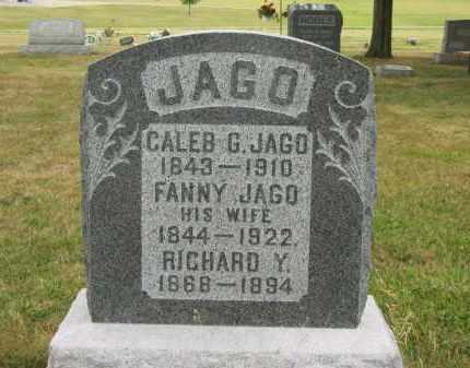 JAGO, CALEB G. - Lorain County, Ohio | CALEB G. JAGO - Ohio Gravestone Photos