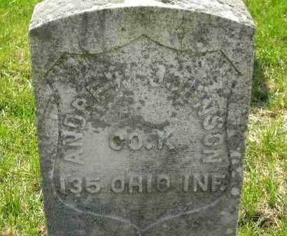 JOHNSON, ANDREW - Lorain County, Ohio | ANDREW JOHNSON - Ohio Gravestone Photos