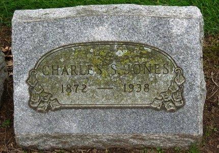 JONES, CHARLES S. - Lorain County, Ohio   CHARLES S. JONES - Ohio Gravestone Photos