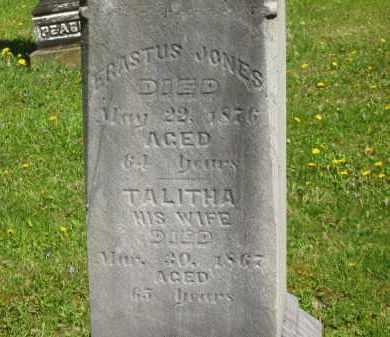 JONES, TALITHA - Lorain County, Ohio | TALITHA JONES - Ohio Gravestone Photos