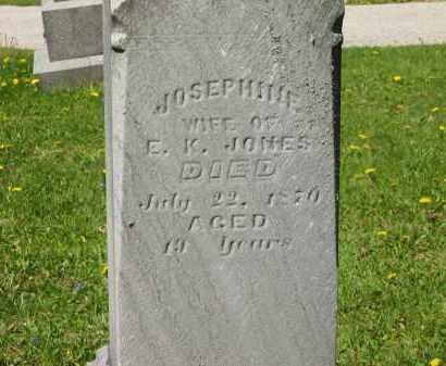 JONES, JOSEPHINE - Lorain County, Ohio   JOSEPHINE JONES - Ohio Gravestone Photos
