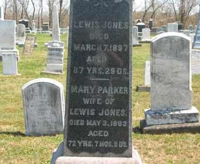 JONES, MARY - Lorain County, Ohio | MARY JONES - Ohio Gravestone Photos