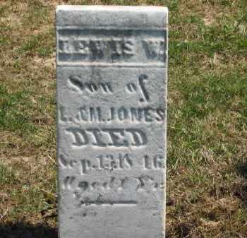 JONES, L. - Lorain County, Ohio | L. JONES - Ohio Gravestone Photos