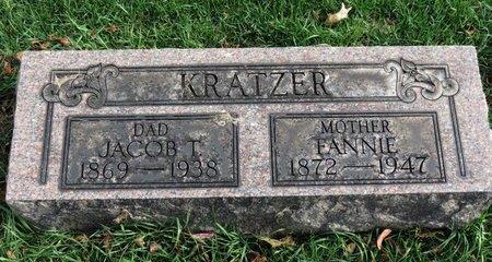 KRATZER, FANNIE - Lorain County, Ohio | FANNIE KRATZER - Ohio Gravestone Photos
