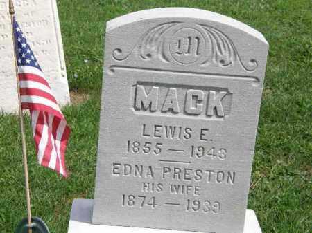 MACK, EDNA - Lorain County, Ohio   EDNA MACK - Ohio Gravestone Photos