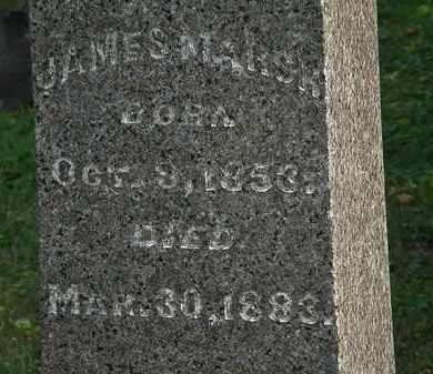MARSH, JAMES - Lorain County, Ohio | JAMES MARSH - Ohio Gravestone Photos