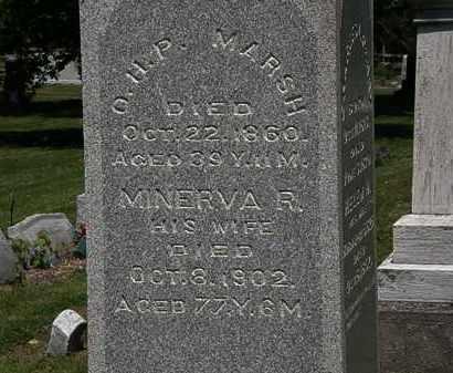 MARSH, O.H.P. - Lorain County, Ohio | O.H.P. MARSH - Ohio Gravestone Photos