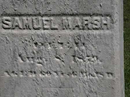 MARSH, SAMUEL - Lorain County, Ohio   SAMUEL MARSH - Ohio Gravestone Photos