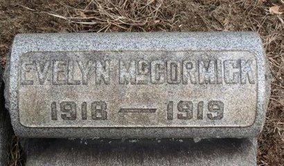 MCCORMICK, EVELYN - Lorain County, Ohio | EVELYN MCCORMICK - Ohio Gravestone Photos