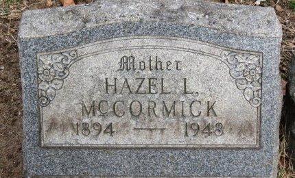 MCCORMICK, HAZEL L. - Lorain County, Ohio | HAZEL L. MCCORMICK - Ohio Gravestone Photos