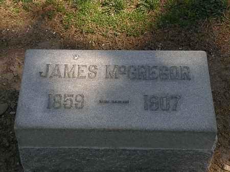 MCGREGOR, JAMES - Lorain County, Ohio | JAMES MCGREGOR - Ohio Gravestone Photos