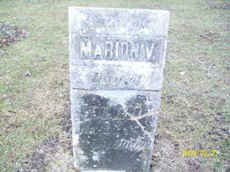MEEKER, MARION V - Lorain County, Ohio   MARION V MEEKER - Ohio Gravestone Photos