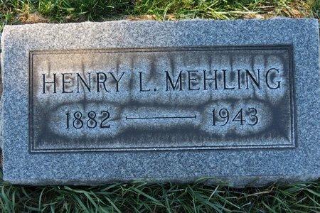 MEHLING, HENRY L. - Lorain County, Ohio   HENRY L. MEHLING - Ohio Gravestone Photos