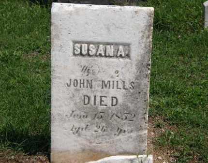 MILLS, SUSAN A. - Lorain County, Ohio   SUSAN A. MILLS - Ohio Gravestone Photos