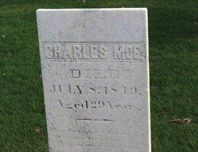 MOE, CHARLES - Lorain County, Ohio | CHARLES MOE - Ohio Gravestone Photos