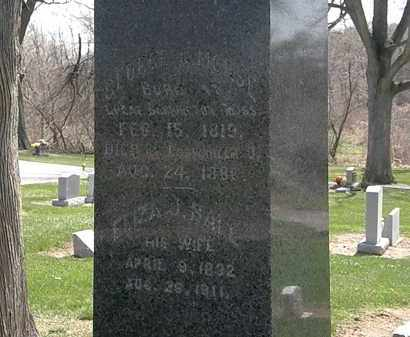 MORSE, ELIZA J. - Lorain County, Ohio | ELIZA J. MORSE - Ohio Gravestone Photos