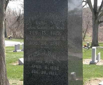 BALL MORSE, ELIZA J. - Lorain County, Ohio | ELIZA J. BALL MORSE - Ohio Gravestone Photos