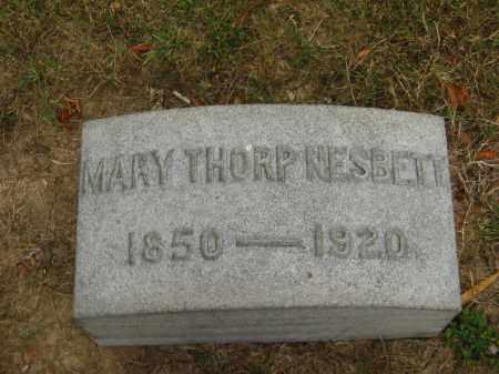 NESBETT, MARY - Lorain County, Ohio | MARY NESBETT - Ohio Gravestone Photos