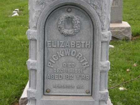 PICKWORTH, ELIZABETH - Lorain County, Ohio   ELIZABETH PICKWORTH - Ohio Gravestone Photos