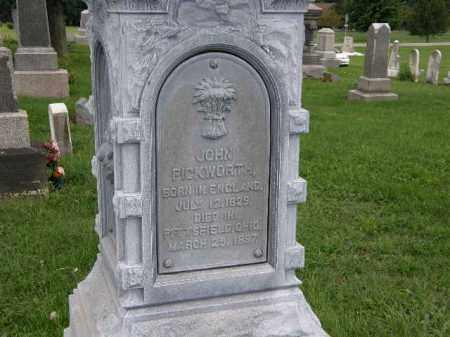 PICKWORTH, JOHN - Lorain County, Ohio | JOHN PICKWORTH - Ohio Gravestone Photos