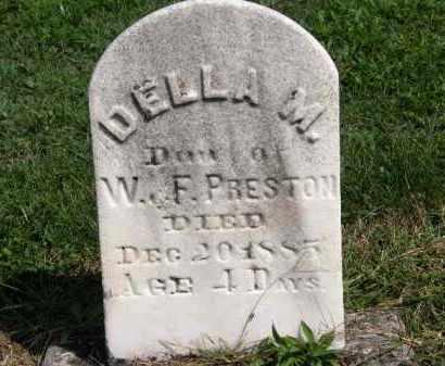 PRESTON, W. - Lorain County, Ohio | W. PRESTON - Ohio Gravestone Photos
