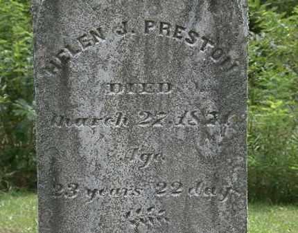 PRESTON, HELEN J. - Lorain County, Ohio   HELEN J. PRESTON - Ohio Gravestone Photos