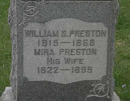 PRESTON, MIRA - Lorain County, Ohio   MIRA PRESTON - Ohio Gravestone Photos
