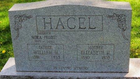 HACEL, WILLIAM M. - Lorain County, Ohio | WILLIAM M. HACEL - Ohio Gravestone Photos