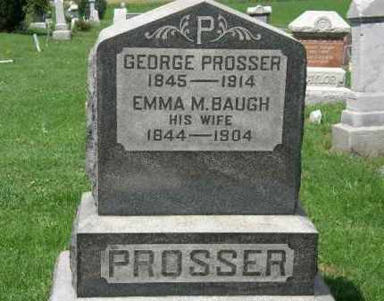 PROSSER, EMMA M. - Lorain County, Ohio   EMMA M. PROSSER - Ohio Gravestone Photos