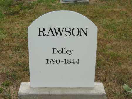 RAWSON, DOLLEY - Lorain County, Ohio   DOLLEY RAWSON - Ohio Gravestone Photos