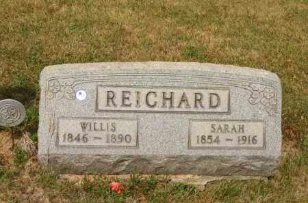 REICHARD, SARAH - Lorain County, Ohio   SARAH REICHARD - Ohio Gravestone Photos