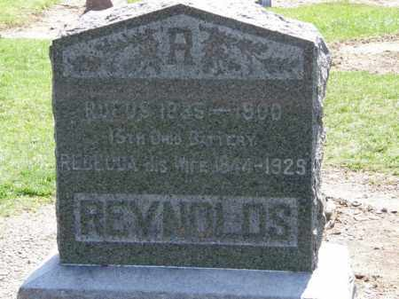 REYNOLDS, RUFUS - Lorain County, Ohio | RUFUS REYNOLDS - Ohio Gravestone Photos